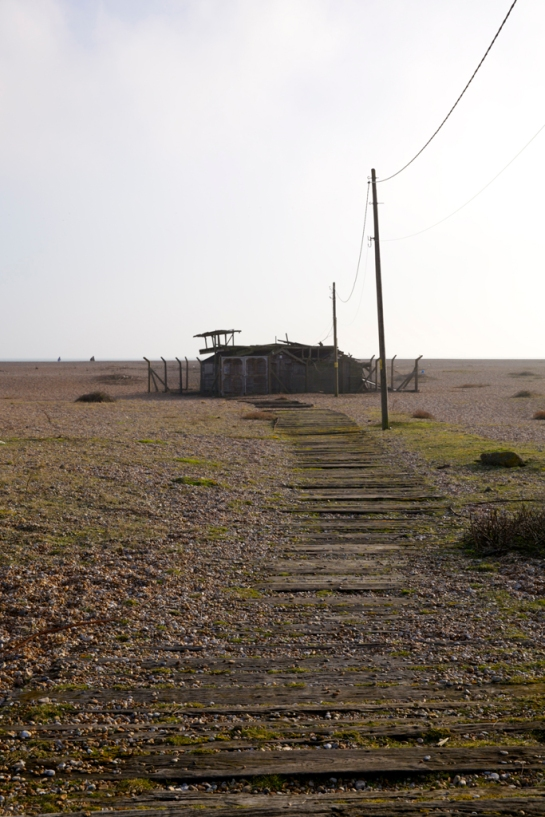 Marconi Huts at Dungeness