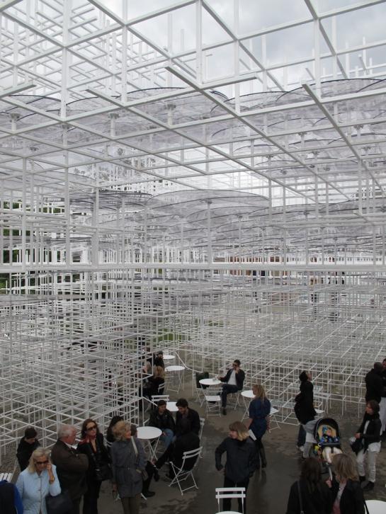 Serpentine Pavilion, Sou Fujimoto