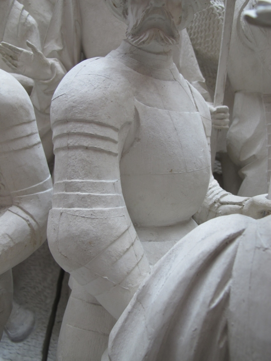 Plaster cast of Schleswig Alter piece