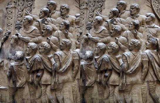 Trajan's Column, V and A