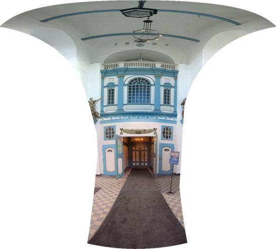 Frue Kirke Entrance Lobby
