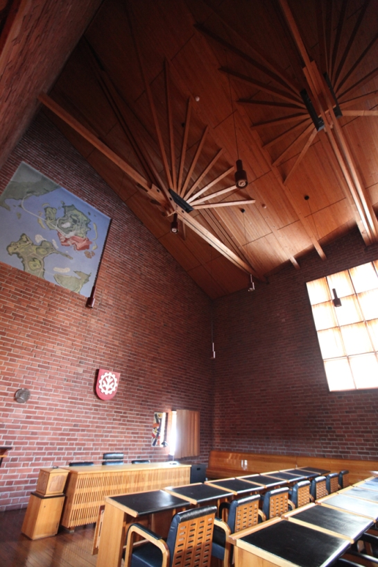 Saynatsalo Town Hall Interior