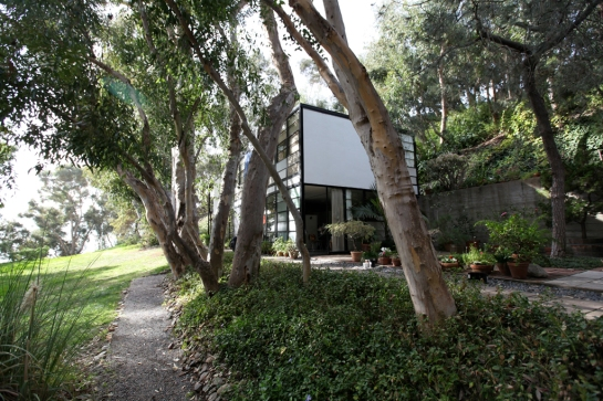 Outside Space at the Eames House