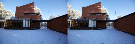 Säynätsalo Town Hall in Stereo