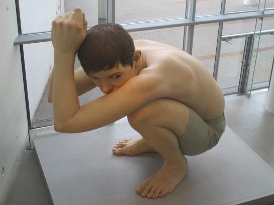 Boy, Ron Mueck at ARoS