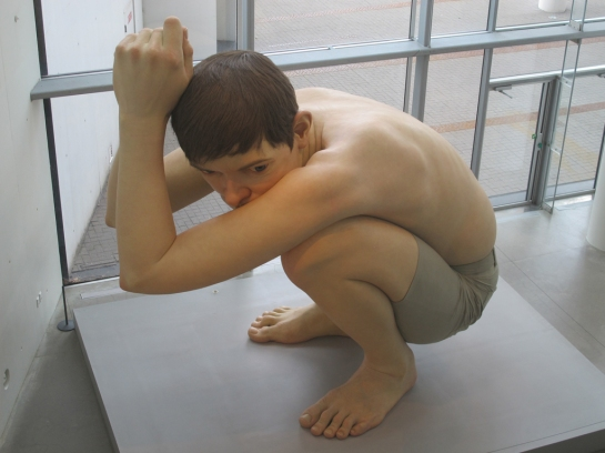 Boy, Ron Mueck at ARoS