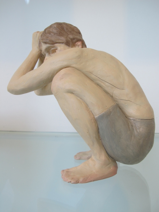 Boy, Ron Mueck at ARoS - study