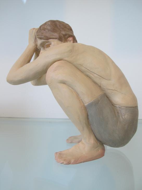 Boy, Ron Mueck at ARoS - study