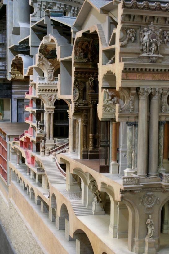 Paris Opera Model Musée d'Orsay