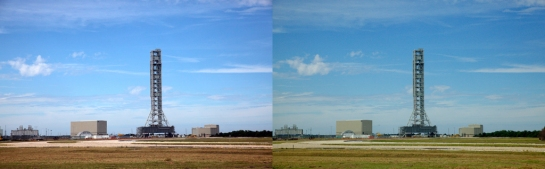 Cape Canaveral in Stereo