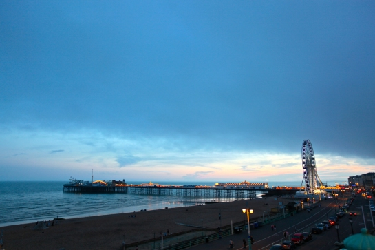 Palace Pier (Now Brighton Pier)