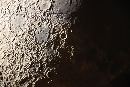 Moon with Seam, Griffith Observatory
