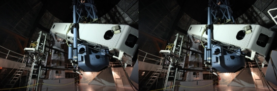 "Mount Wilson 100"" Telescope in Stereo"
