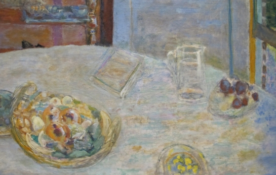 Pierre Bonnard The Dining Room 1925