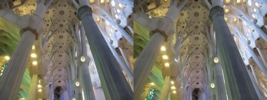 Sagrada Familia in Stereo