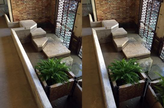 Querini Stampalia Staircase in Stereo (Carlo Scarpa)