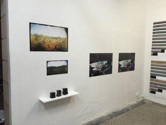 Bog cameras, photographs and Instrument Eight photographs, Nat Chard